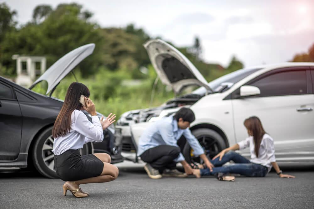 Что делать при ДТП: без пострадавших, с пострадавшими