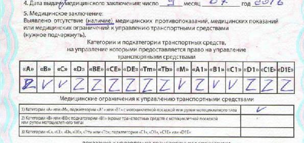 Медицинская справка водителя на сколько лет Справка КЭК Шмитовский проезд