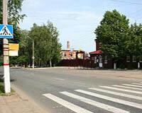 Пешеходные переходы, места остановок маршрутного транспорта