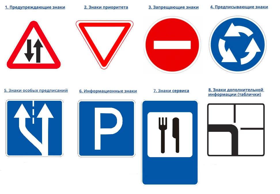 дорожные знаки картинки с названиями дорога для автомобилей инстаграме при помощи
