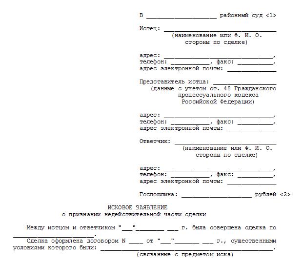 Образец искового заявления в военный суд образцы шаблонов и.